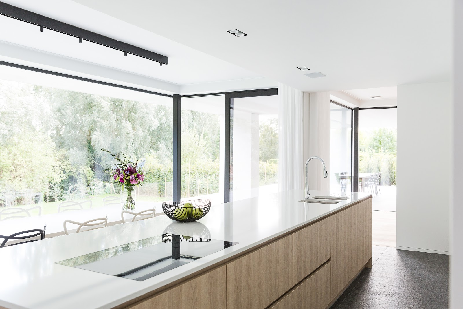 optimaal lichtinval keuken en interieur