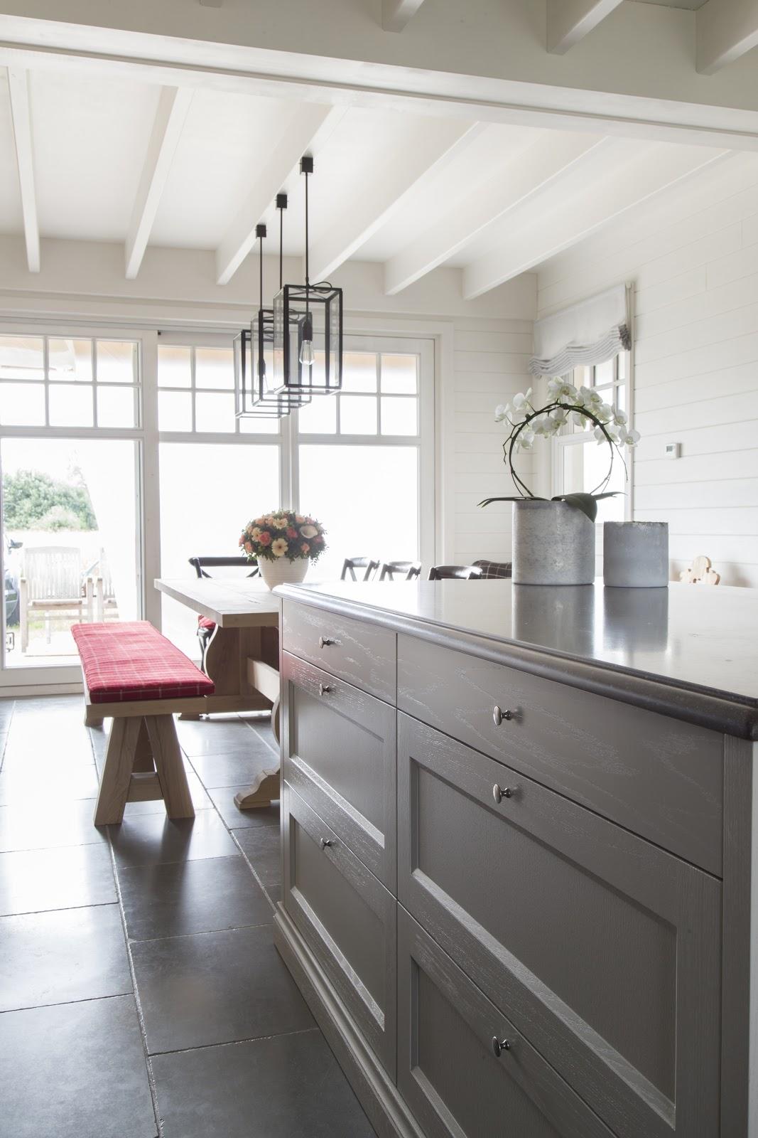 geschilderde keuken