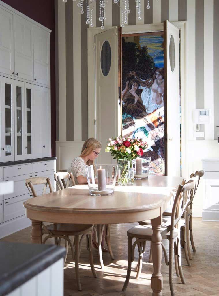 Landelijke keuken buckhingham herenwoning
